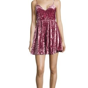 Romeo & Juliet Couture Velvet Dress